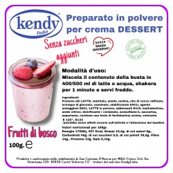 KENDY CREMA DESSERT FRUTTI DI BOSCO